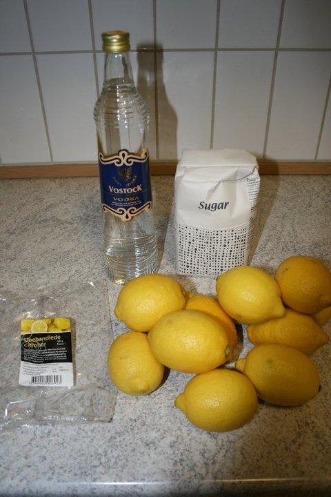 Lemoncello.