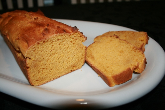 Brød med søde kartofler.