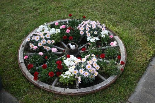 Blomster hjul.