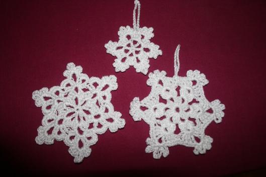 Hæklet snefnug - Julen 2015