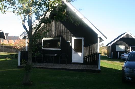 Hytte på Tornby Camping plads.