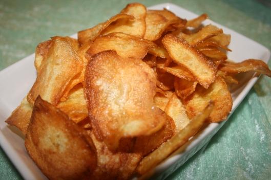 Hjemmelavet franske kartofler.