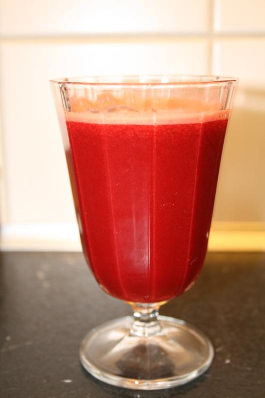 Rød juice #4