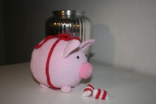 Julegris - julekalenderlåge i søndags - Little Happy Crochet