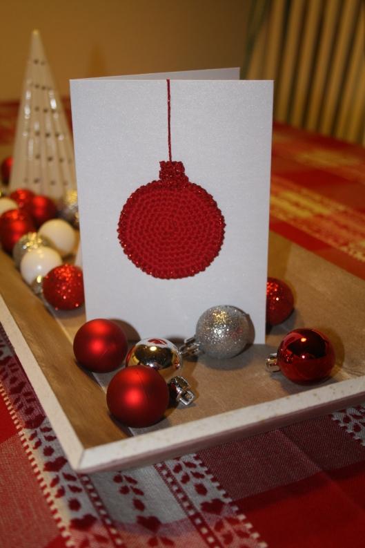 Julekort fra Little Happy Crochet julekalender.