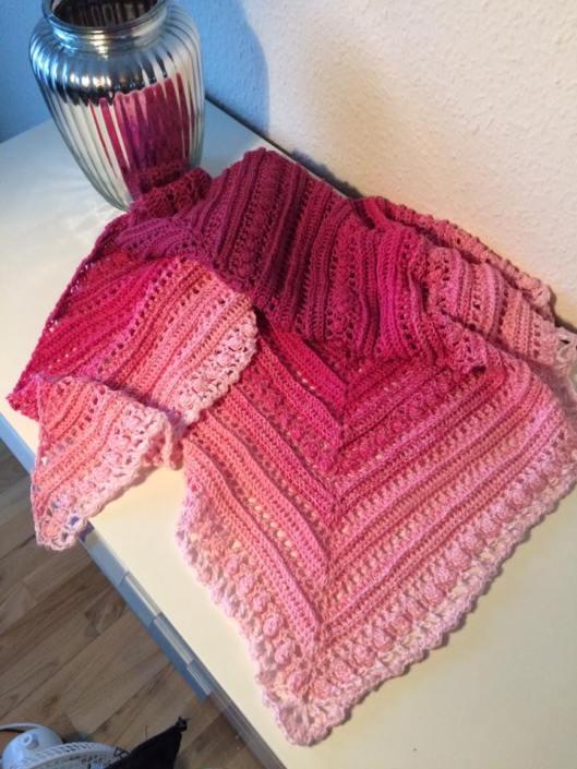Secret Paths Sjal fra Mijo Crochet.